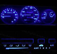 Blue LED Cluster + Climate Control Combo Bulb KIT for Honda Civic EG 1992-1995