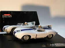 Carrera Evolution 25786 JAGUAR D-type 1957 Limited Edition NEUF