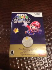 New listing Nintendo Wii Super Mario Galaxy Commemorative Launch Coin