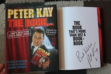 More details for peter kay 'the book…thats more than' hand signed hard-back book 1st edition rare