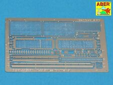 PHOTO-ECTHED MESH/GRILLES FOR RUSSIAN TANK T-55 ALSO TIRAN 5 #35G28 1/35 ABER