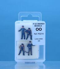 P & D Marsh OO Gauge Loco Crew (4) Painted # PDZ19