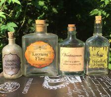 LABELS ONLY DIY Ground Cornish Pixie Bones,Lacewing Flies, Veritaserum,Basilisk
