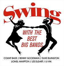 CD Swing With Le Meilleur Big Bands d'Artistes divers 2CDs