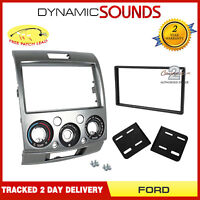CT23FD14 Double Din Car Stereo Fascia Panel Adaptor For FORD Ranger 2007-2012