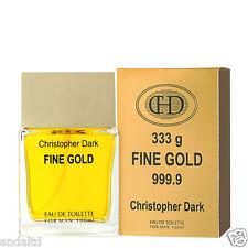 Christopher Dark Fine Gold Eau De Toilette Natural Spray for Men 100ml