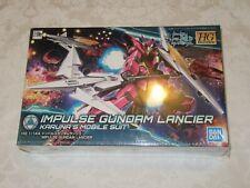 Bandai Hg Build Divers Impulse Gundam Lancier Karuna's Mobile Suit 1/144 Model