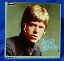 Rare Original 1967 Mono LP: David Bowie - David Bowie - Deram DE 16003