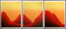 "Jim Boutwell ""Heartland I,II,III"" Triptych of Signed Numbered Serigraph Prints"