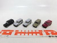 CA464-0,5# 5x Wiking 1:87/H0 PKW/Geländewagen Mercedes-Benz/MB G-Klasse, NEUW
