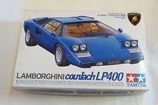 Tamiya Lamborghini Countach LP400 Bausatz 1:24 Modell Nummer 24305