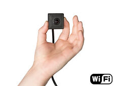 HD Wi-Fi Spy Camera with Covert Pinhole Lens & MicroSD Card Recording
