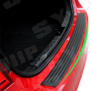 Accessories Rubber Sheet Car Rear Guard Bumper Sticker Panel Protector Kit US 4D