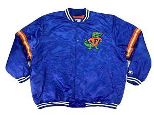Starter Florida Gators College Vault UF Vintage Jacket Blue Mens 5XL 6XL NEW!!