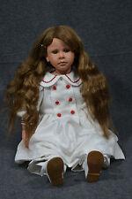 Puppe, Sammlerpuppe,Ruth Treffeisen,Mädchen, 62 cm, 1991