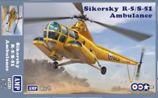 1/72 Sikorsky R5/S-51 Ambulance- New- AMP multimedia kit!