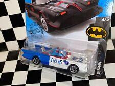 "Hot Wheels 1966 Batmobile - ""TENNESSEE TITANS"" custom"