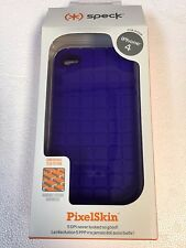New SPECK iPhone 4 only Pixel Skin Purple Case SPK-A0008