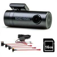 Road Angel Halo GO 1080p HD Front Dash Cam Camera inc 16GB SD / Hard wire kit