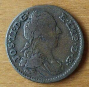 Austrian Netherlands One Liard Coin 1788 Fine+ Grade Scarce Example..... .