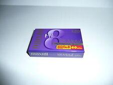 1 Maxell Hi8 XR-Metal 120 Professional Quality 8mm Digital8 60 min Video Tape