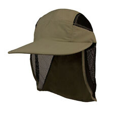 UV 50+ Protection Outdoor Flap Cap, Olive