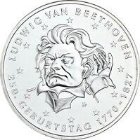 Deutschland 20 Euro 2020 Ludwig van Beethoven Münze prägefrisch