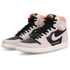 promo code 60248 761fd Nike Air Jordan 1 Retro High OG Neutral Grey HYPER Crimson Size 8.5