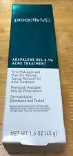 New In Box - Proactiv Md Adapalene Gel 0.1% Acne Treatment
