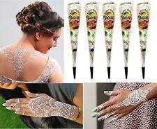 5x Golecha Henna Paste Kegel Weiß 125g  Klinisch getestet Mehndi Tattoo Indien