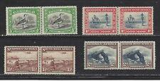 SOUTHWEST AFRICA (MANDATE TO SO AFR) - 108 - 111 - MH - 1931-37 - SCENES SW AFR
