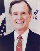 George Bush Sr 8x10 Signed Photo Autographed REPRINT