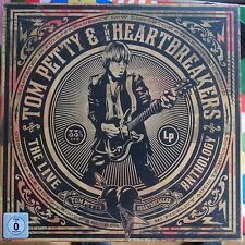 "Tom Petty & the Heartbreakers the Live Anthology 5cd 2dvd BR 12"" VINYL BOX sealed"