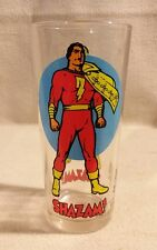 Shazam Drinking Glass Pepsi Super Series 1976 Vintage