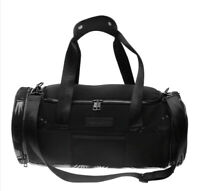 SportFX Gym Bag Barrel Zip Mesh Print Training Sport Black One Size