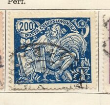 Czechoslovakia 1920 Early Issue Fine Used 200f. 236225