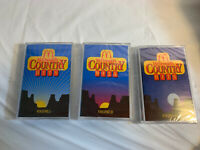 New Sealed McDonalds Country Hits Volume I II & III  3 Cassette Tape Complete