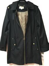 Michael Kors Fall Winter Women's Water resistant Hooded light trench coat plus1X