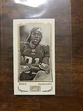 2009 Topps Mayo Torry Holt Mini Harvard Back Card #'d/25!!!
