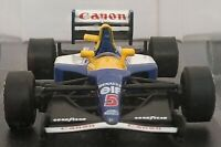 1/43 WILLIAMS RENAULT FW 14B 1992 F1 FORMULA 1 COCHE DE METAL A ESCALA