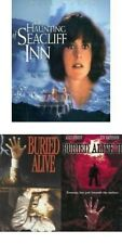 THE HAUNTING AT SEACLIFF INN + BURIED ALIVE 1 + 2  ALLY SHEEDY movie pack DVD