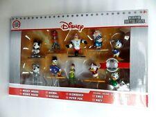 Figurine Nano 100% Metal figs Disney Pack 10 personnages Die CAST neuf