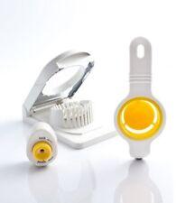 Stainless Steel/Plastic Egg Slicer Cutter + Egg Separator + Egg Piercer Pricker