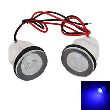 2x12V Waterproof Courtesy Livewell 12v LED BLUE LIGHT Submersible Boat Marine RV