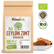 Ceylon Zimt BIO gemahlen 500g mit wenig Cumarin | 100% echtes Ceylon Zimtpulver