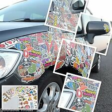 Car Skate Skateboard Laptop Luggage 100pcs /lot Sticker Bomb Decal Vinyl Roll