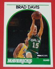 # 296 BRAD DAVIS MAVERICKS DALLAS 1989 NBA HOOPS BASKETBALL CARD