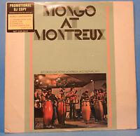 MONGO SANTAMARIA  MONGO AT MONTREAX LP '71 PROMO WHITE LBL GREAT COND! VG+/VG!!