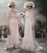 Misses Victorian Edwardian Wedding Bridal Gowns | Sz 14-20 UNCUT Sewing Pattern