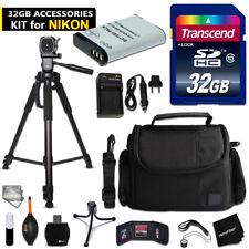 32GB ACCESSORIES Kit for Nikon CoolPix B700, P900, P610, P600